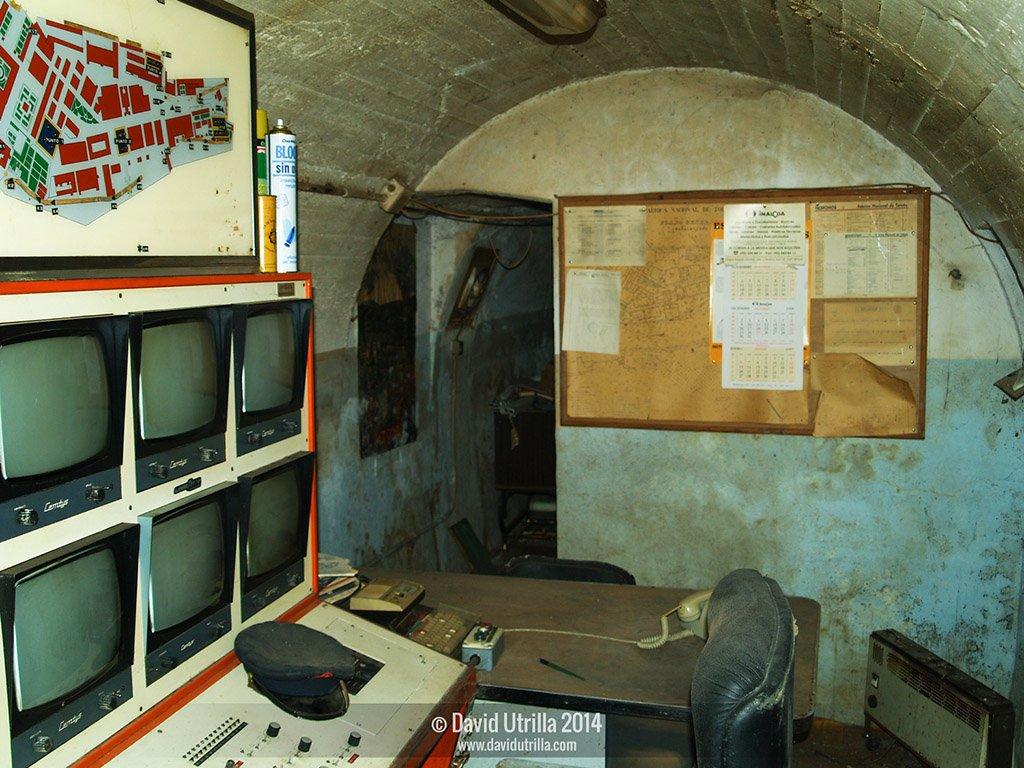 Bunker en la fábrica de Armas