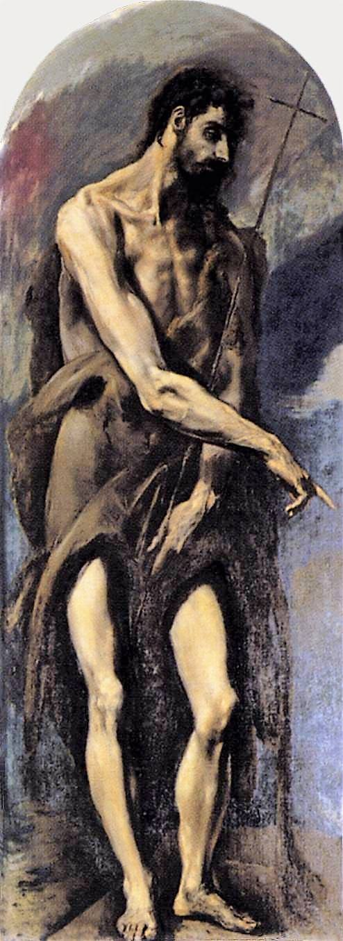 San Juan Bautista, El Greco