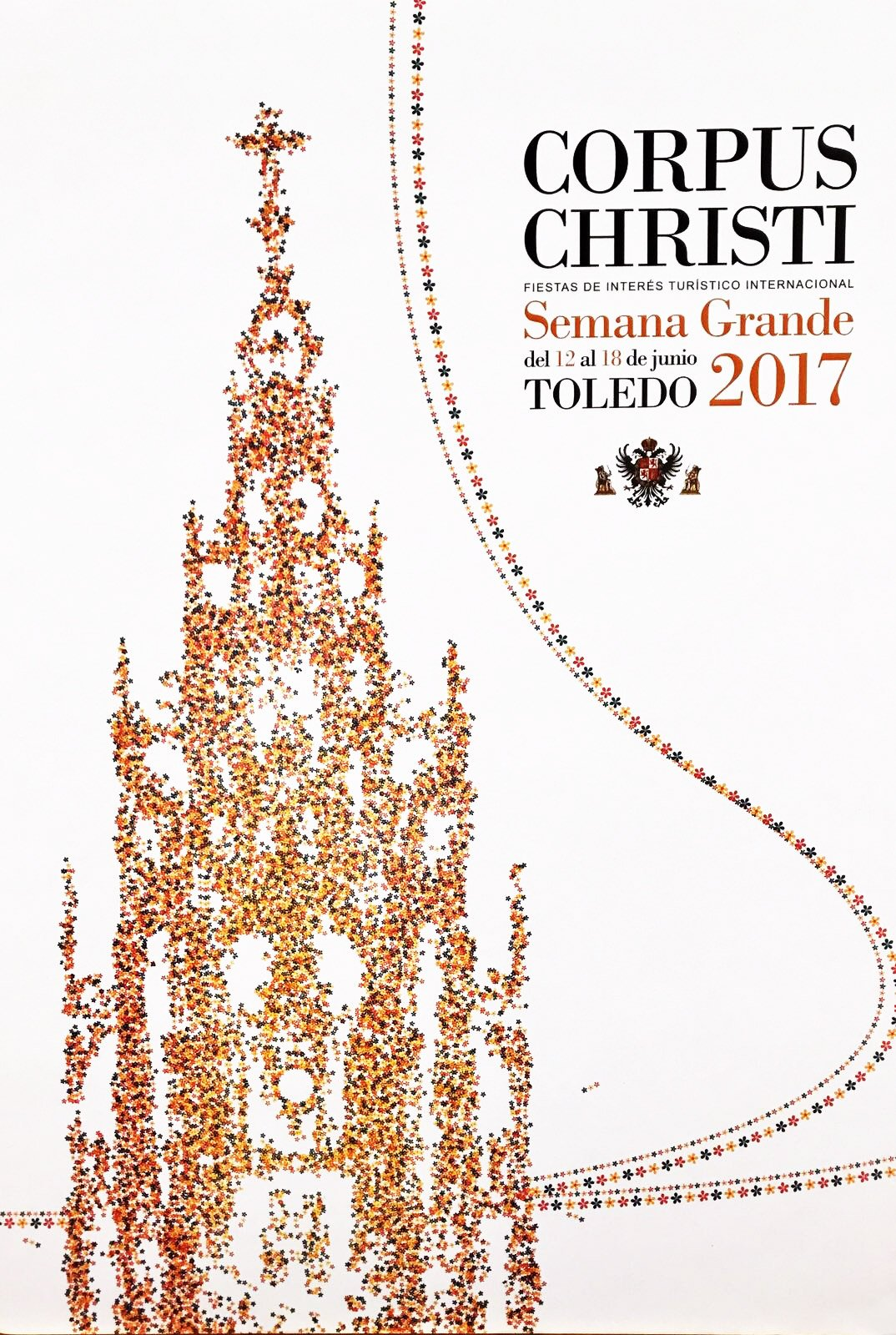 Cartel Corpus Christi Toledo 2017