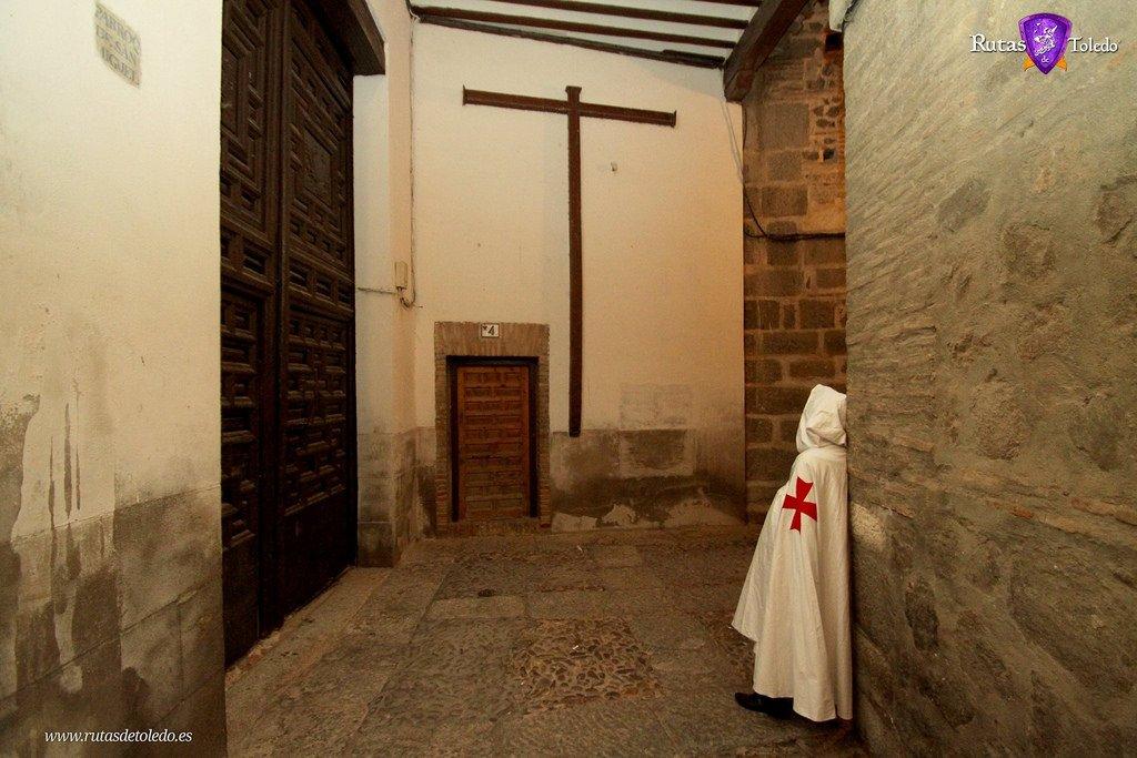 El Cobertizo de la Iglesia de San Miguel. Templarios y Toledo