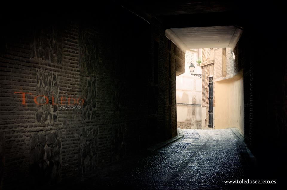 Cobertizo misterioso en Toledo