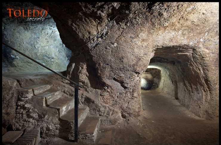 Cueva de la Casa del Duende en Toledo