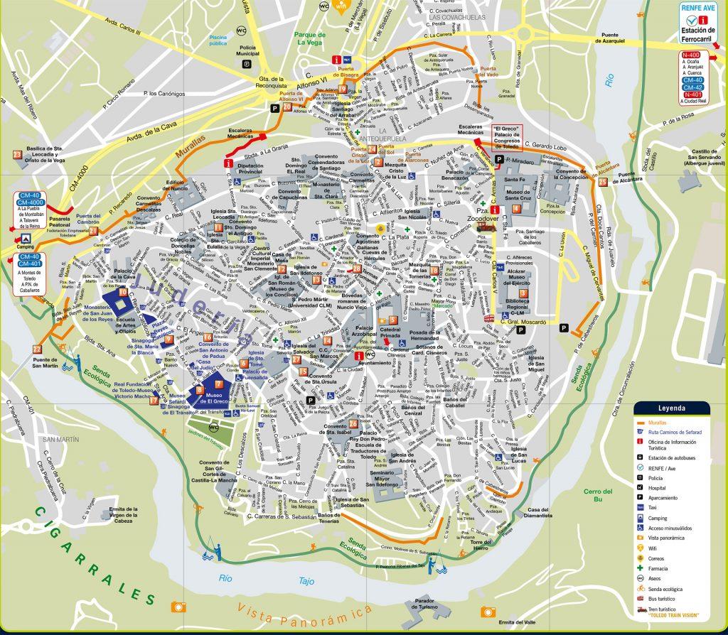 Plano Turístico de Toledo