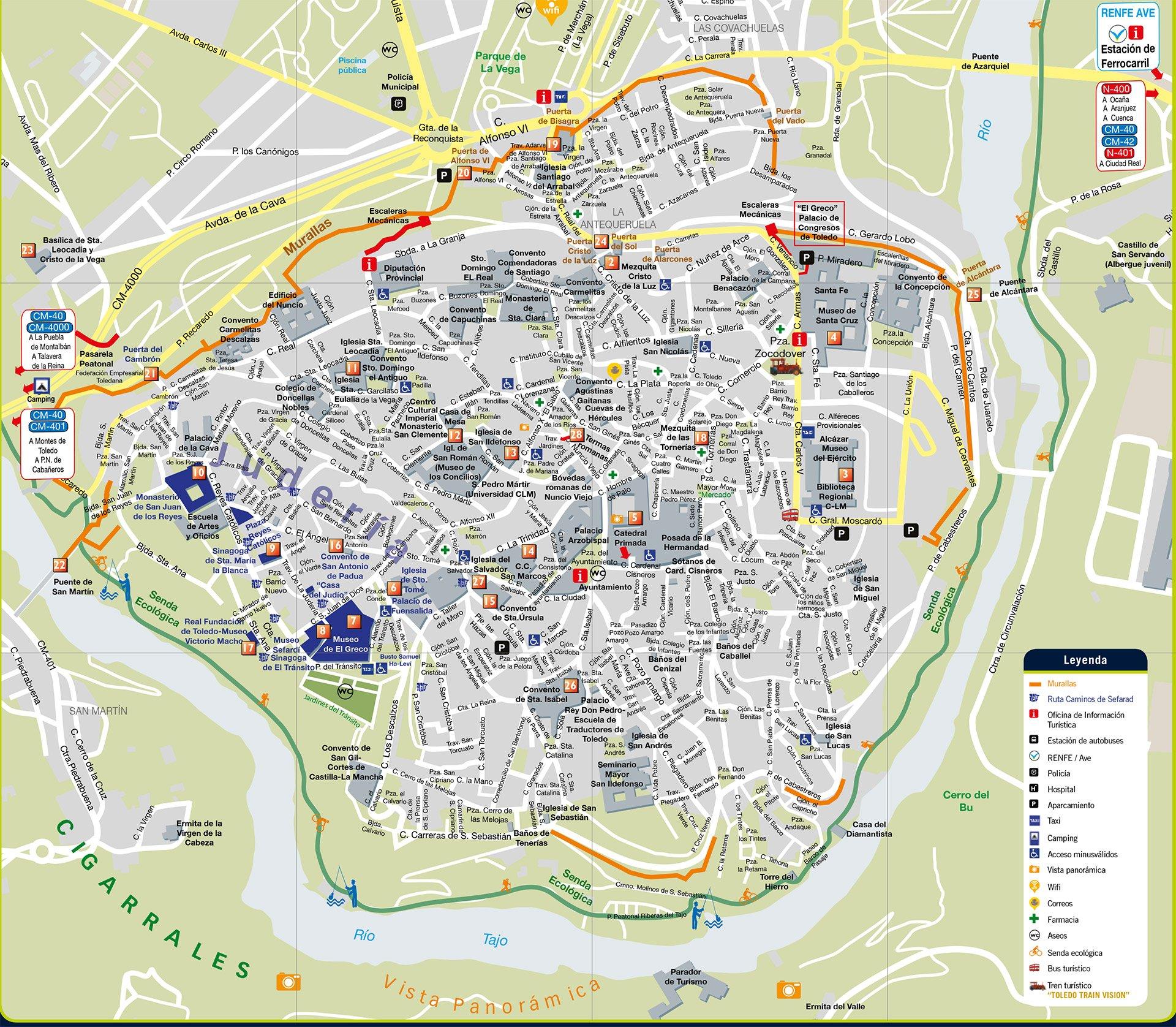 Mapa Provincia De Toledo Turismo.Que Ver En Toledo 2019 Una Breve Guia Para Viajar A La