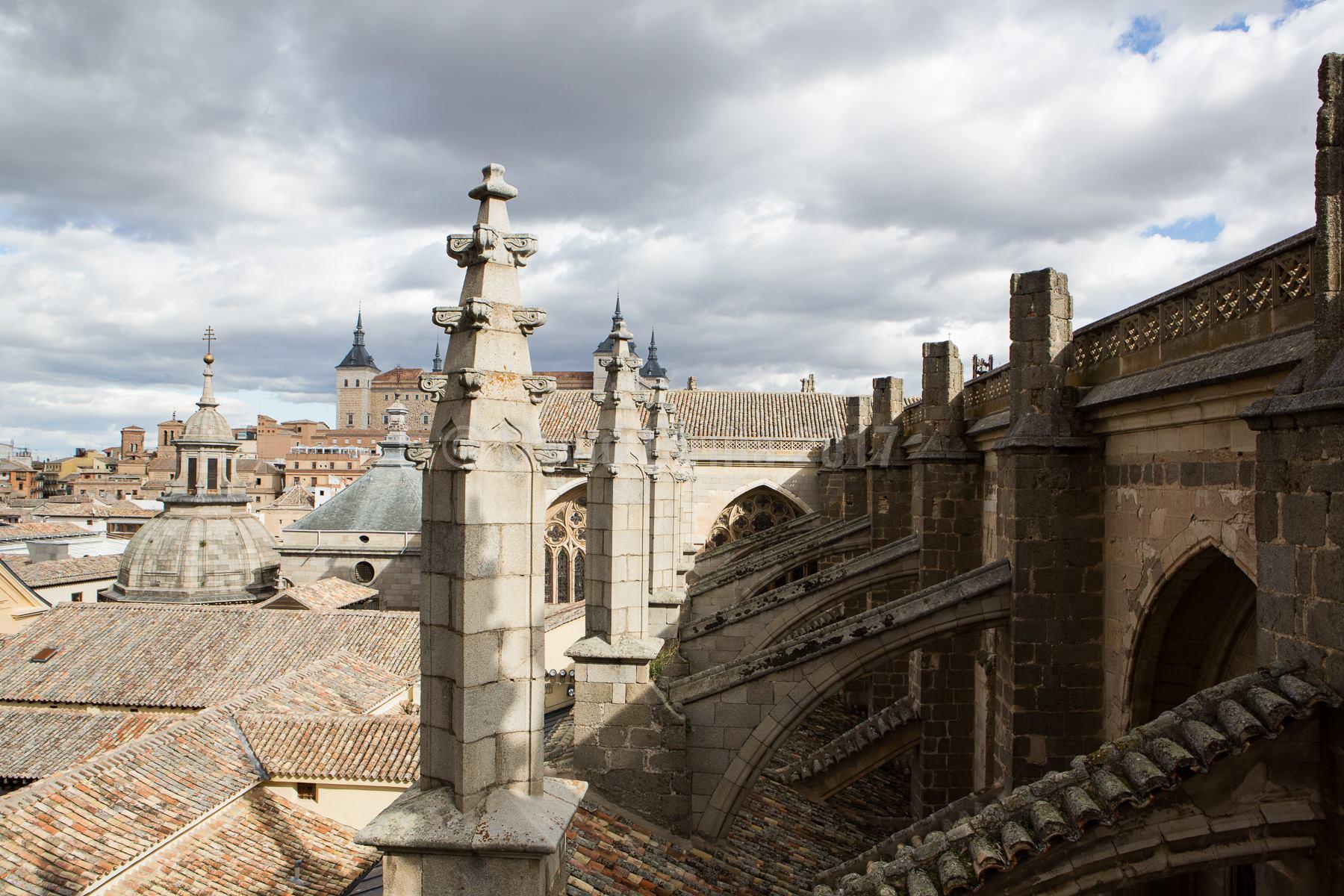 Contrafuertes de la Catedral de Toledo