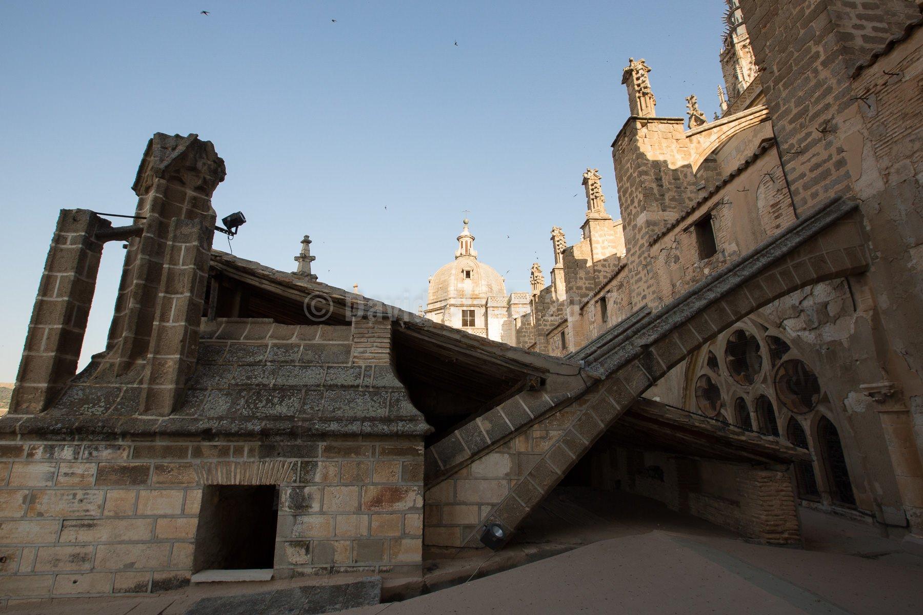 Sobre las cubiertas de la Catedral de Toledo