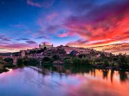 Toledo Sunset por David Álvarez