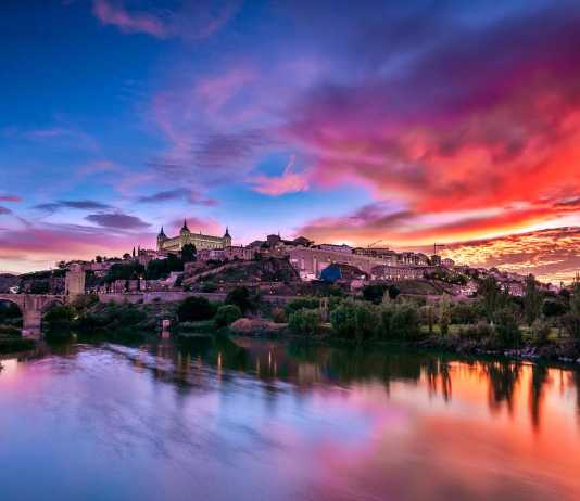 Toledo Sunset por David Álvarez