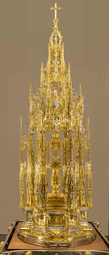 Custodia de la Catedral de Toledo, por David Utrilla