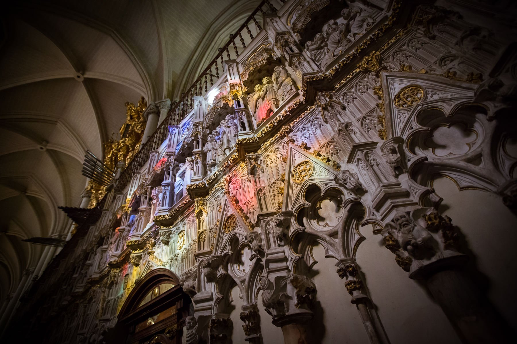 Reflejos en la Catedral de Toledo