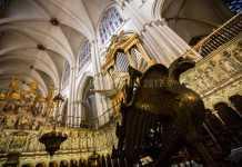 Detalle del coro de la Catedral de Toledo
