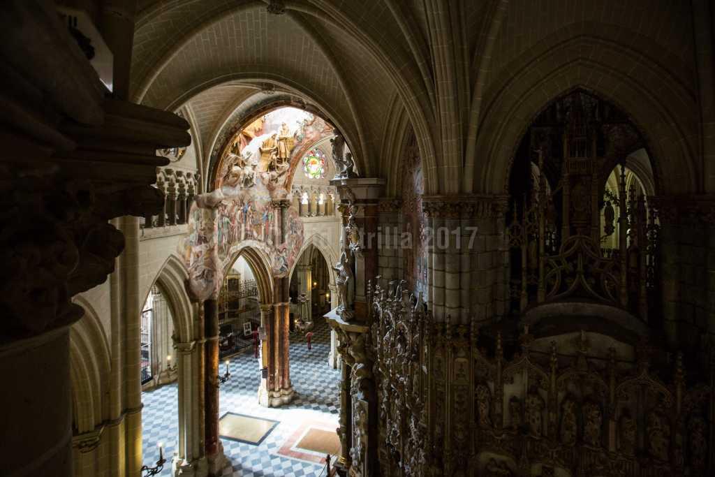 Interior de la Catedral de Toledo, foto: David Utrilla