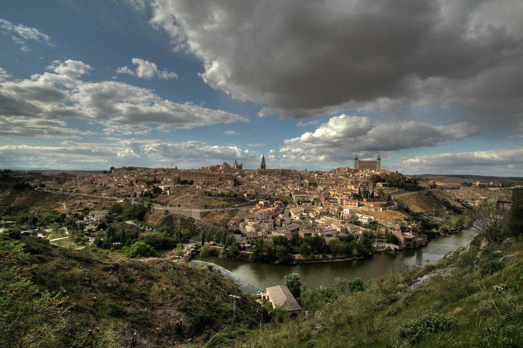 Panorámica desde el Valle, en Toledo
