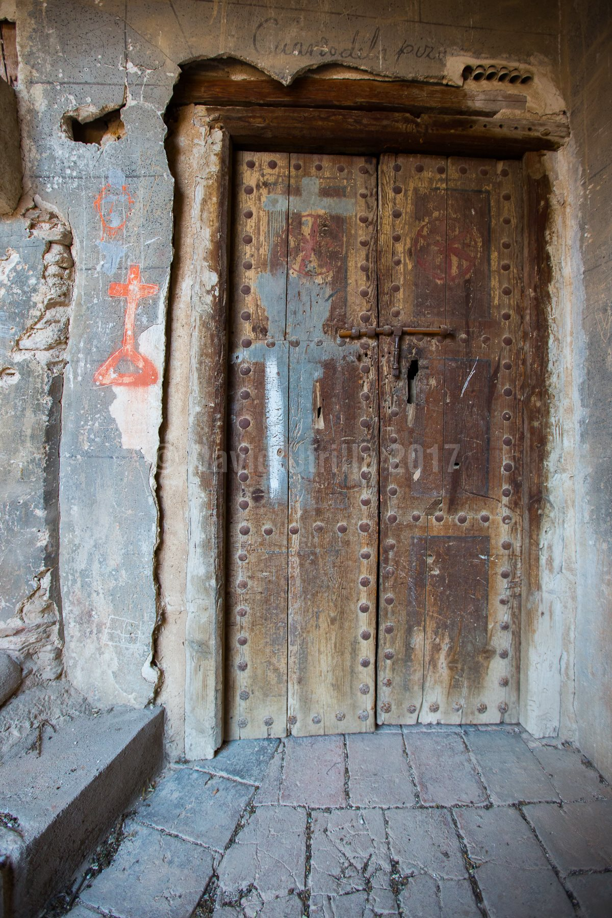 Puerta de almacén en la Catedral de Toledo