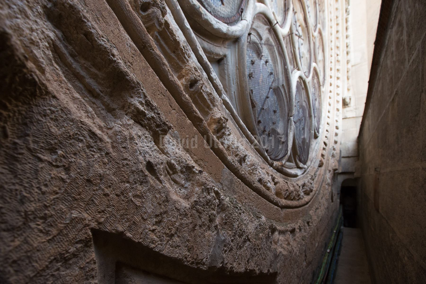 Rosetón de la Catedral de Toledo