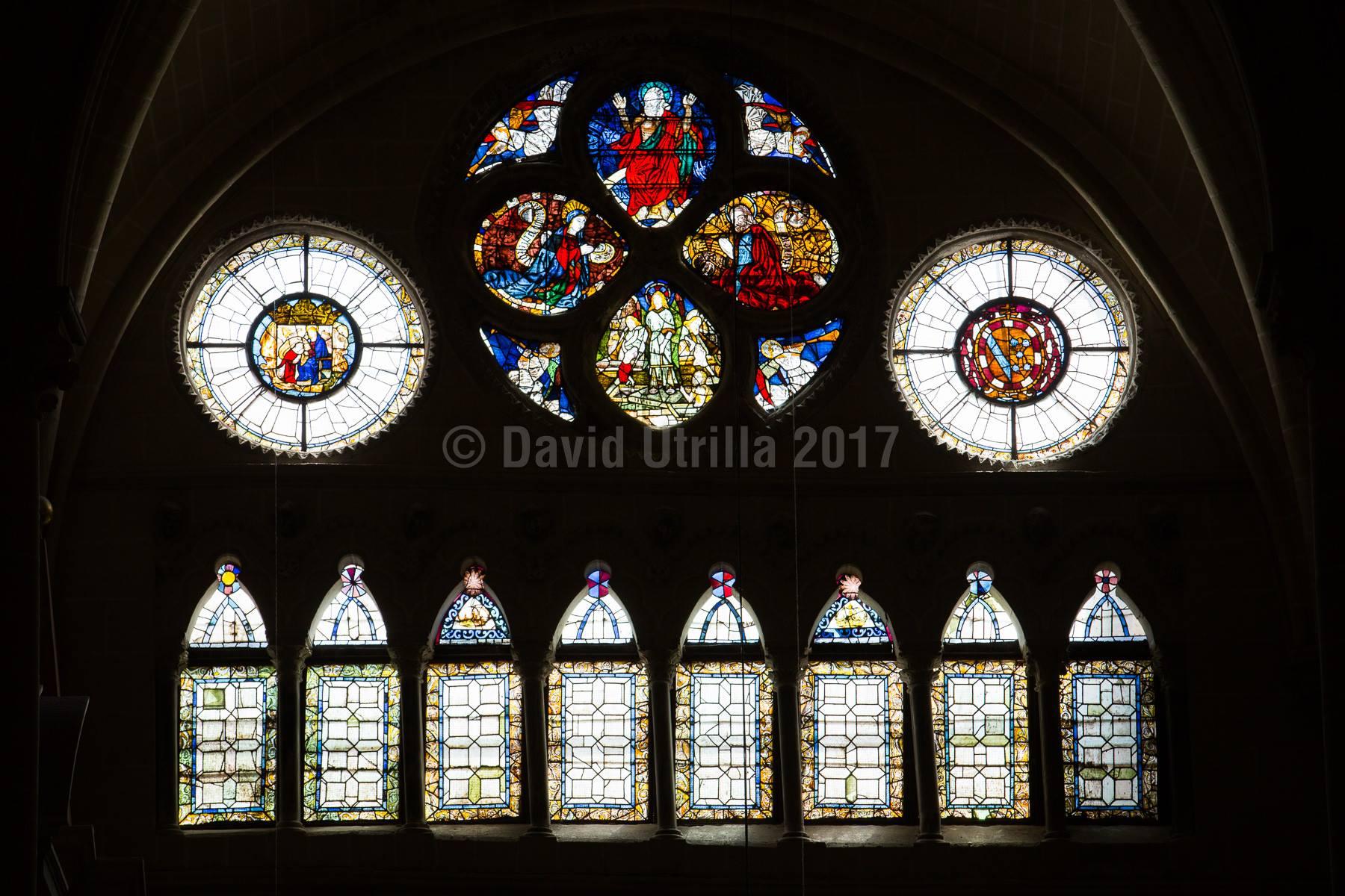 Vidrieras y ventanales Catedral de Toledo
