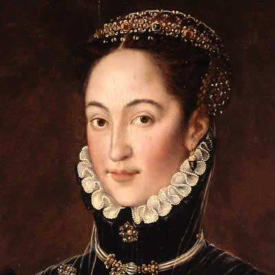 Detalle del cuadro de la II Marquesa de las Navas Gerónima Enríquez de Guzmán - Fundación Casa Ducal Medinaceli