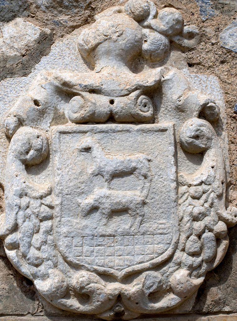 Escudo Familia López de Cervantes en Consuegra