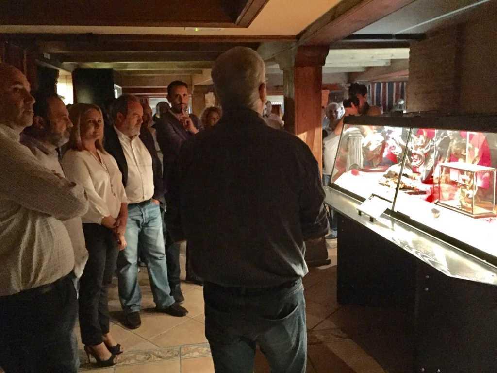 Inauguración de la Exposición de Brujería en Toledo con Luis Rodríguez Bausá