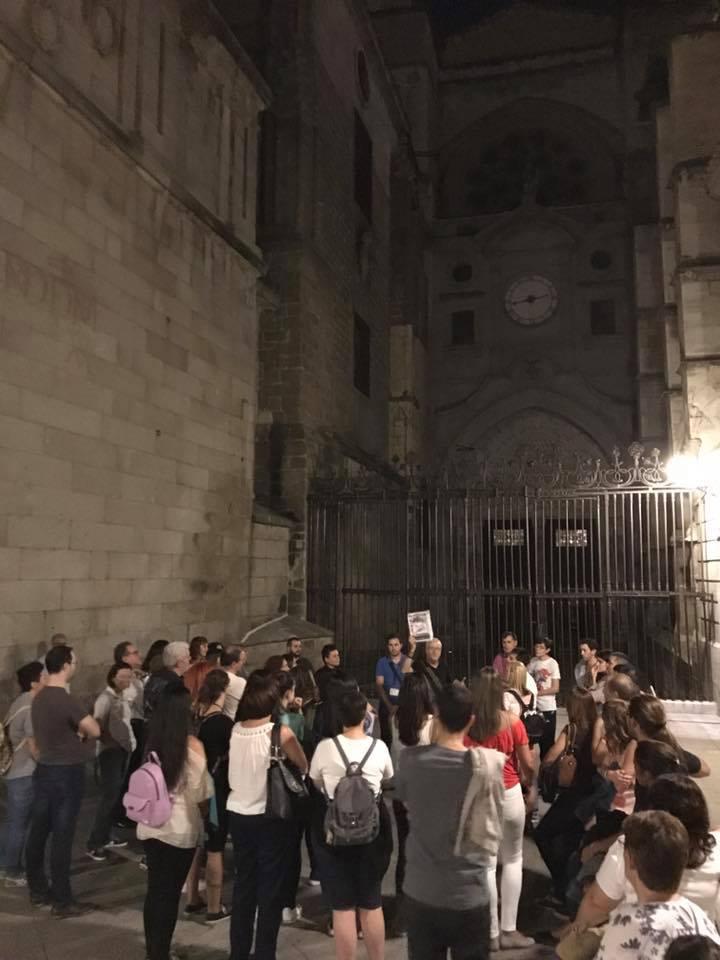 Ruta nocturna por Toledo sobre Brujas