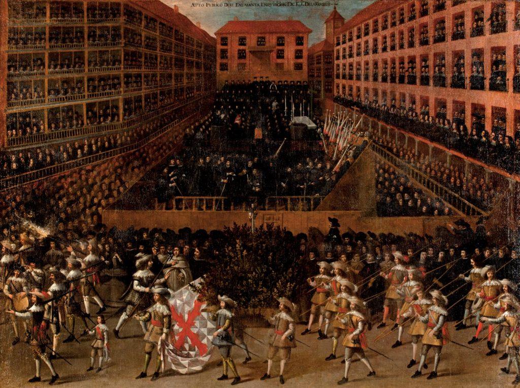 Auto de fe, datado en 1656 y ubicado en el Museo del Greco de Toledo. © Ministerio de Educación, Cultura y Deporte.