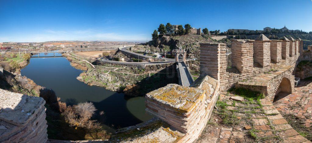 Vistas desde el Puente de Alcántara, por David Utrilla