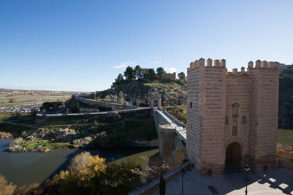 Puente de Alcántara y Castillo de San Servando, por David Utrilla