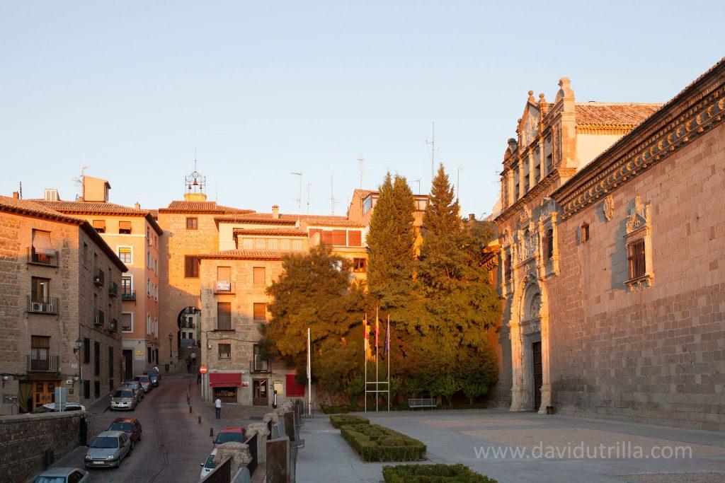 Ubicación del Museo de Santa Cruz en Toledo