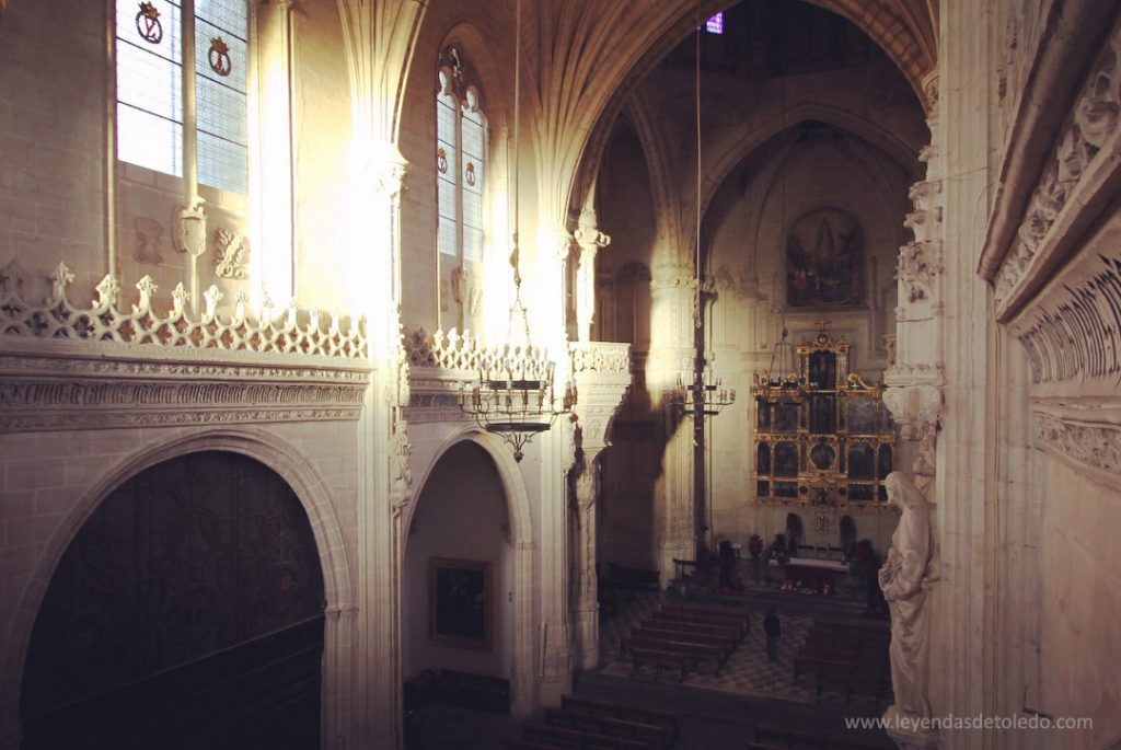 Interior de la Iglesia de San Juan de los Reyes
