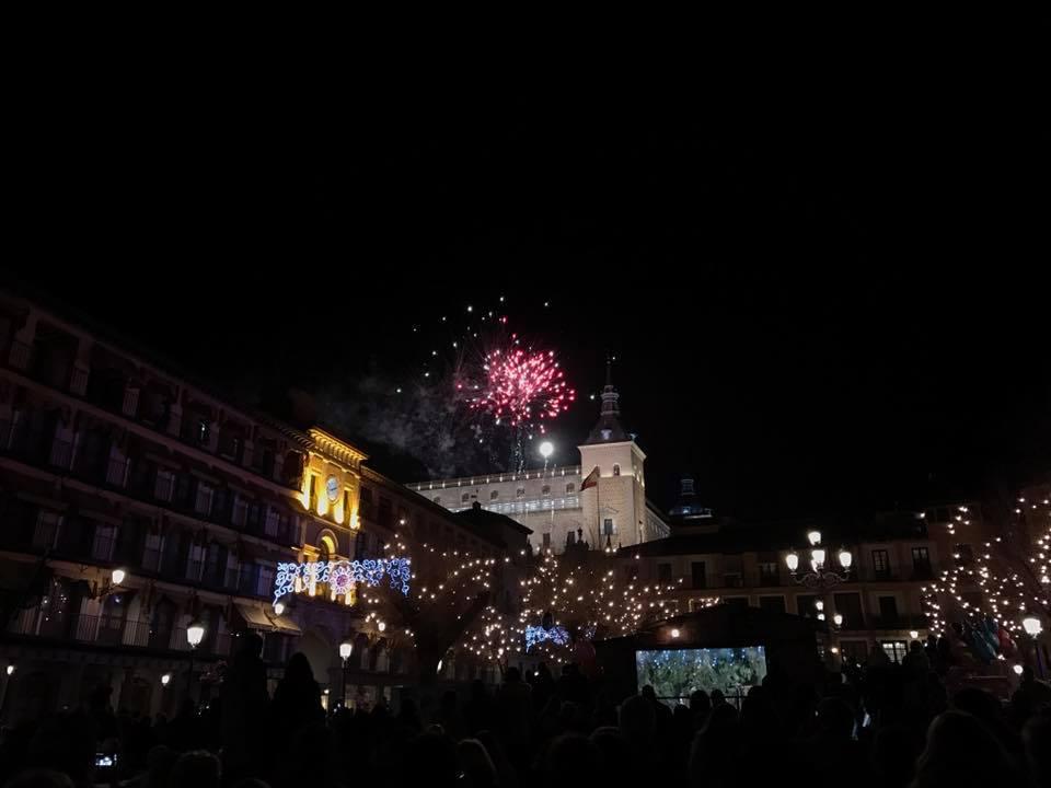 Fuegos Artificiales en Toledo