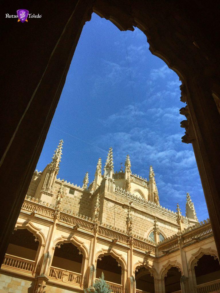 Claustro de San Juan de los Reyes en Toledo