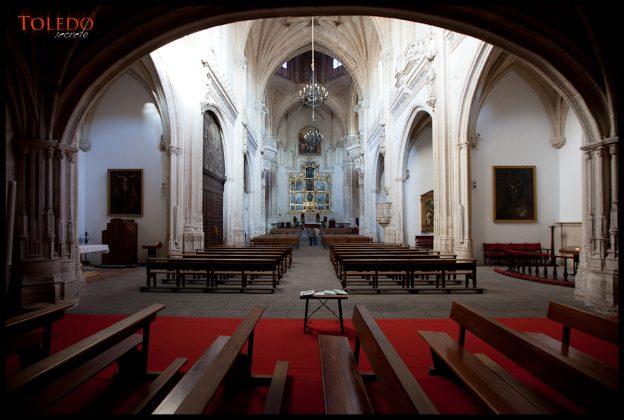 Debajo del coro de San Juan de los Reyes, por David Utrilla Hernández