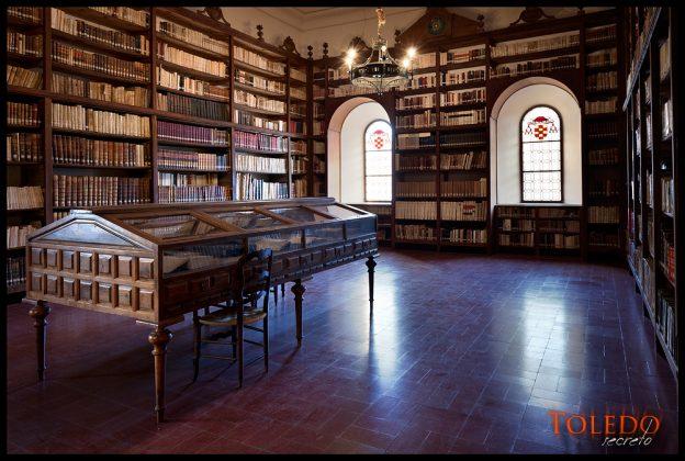 Biblioteca de San Juan de los Reyes, por David Utrilla Hernández