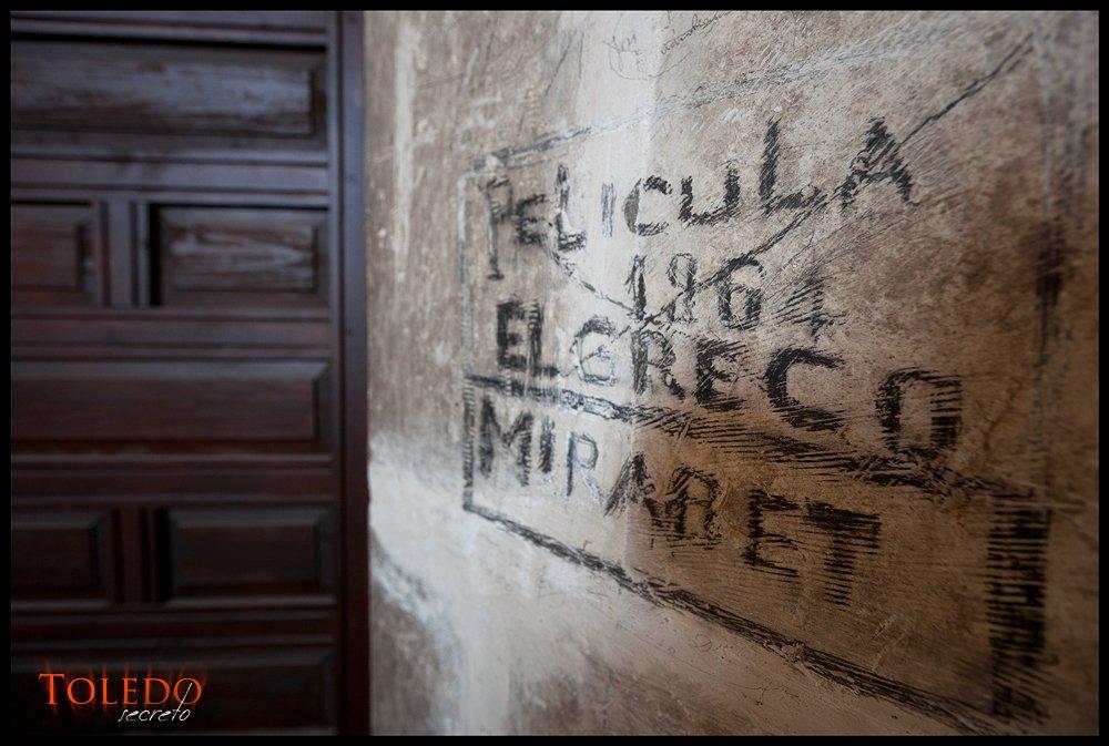 Grafito en San Juan de los Reyes, por David Utrilla Hernández