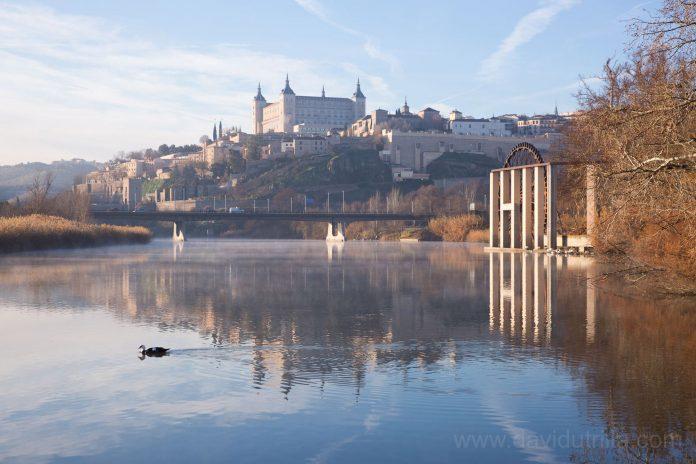 El Tajo y Toledo por David Utrilla