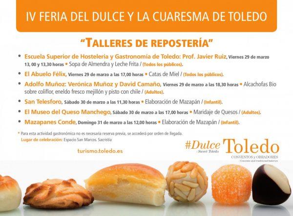 Cartel IV Feria del Dulce Toledo