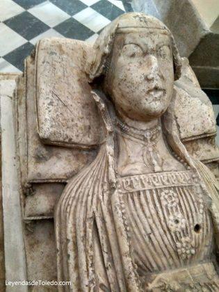 Sepulcro de La Malograda en San Pedro Mártir - Toledo