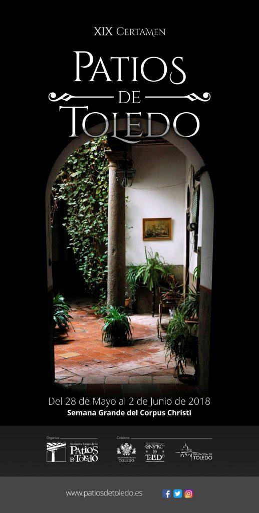 Cartel Patios del Corpus Christi de Toledo 2018