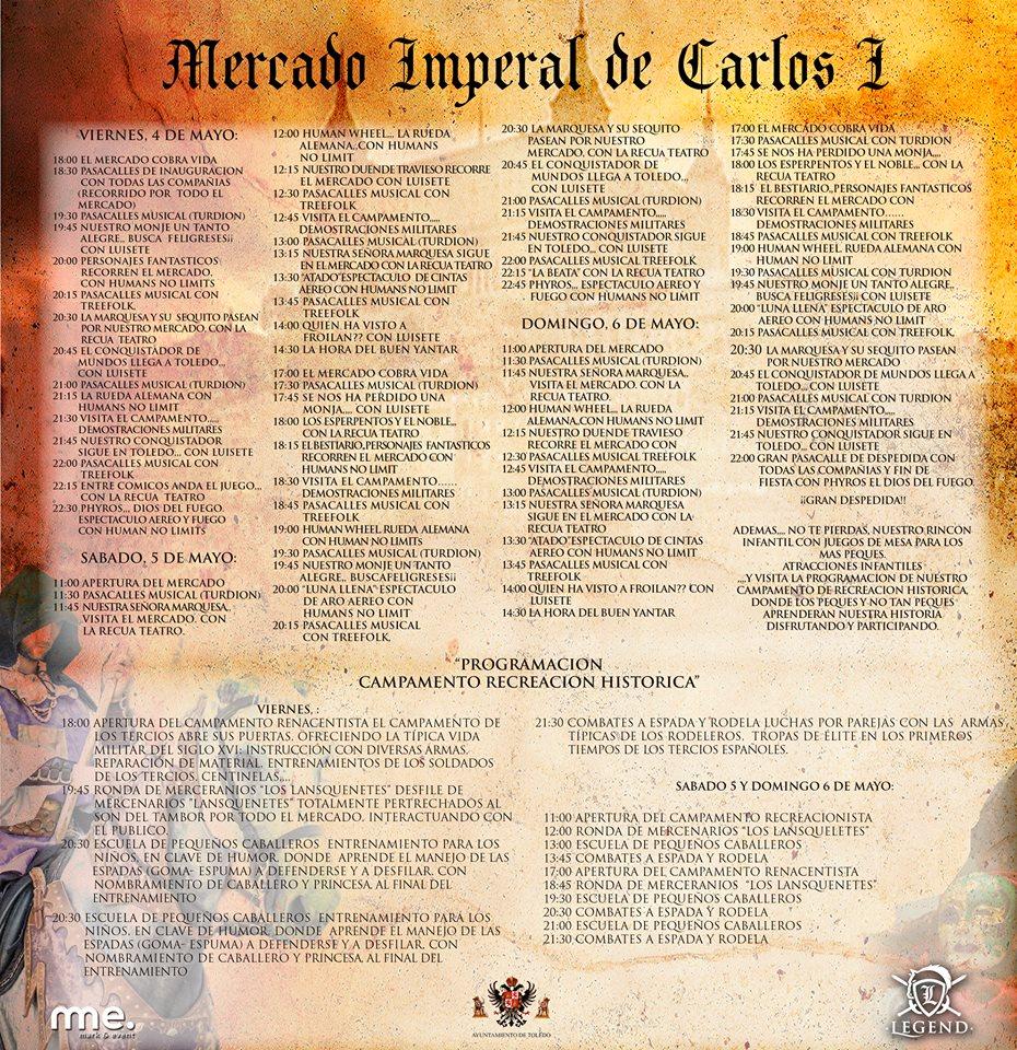 Mercado Imperial Carlos I en Toledo 2018