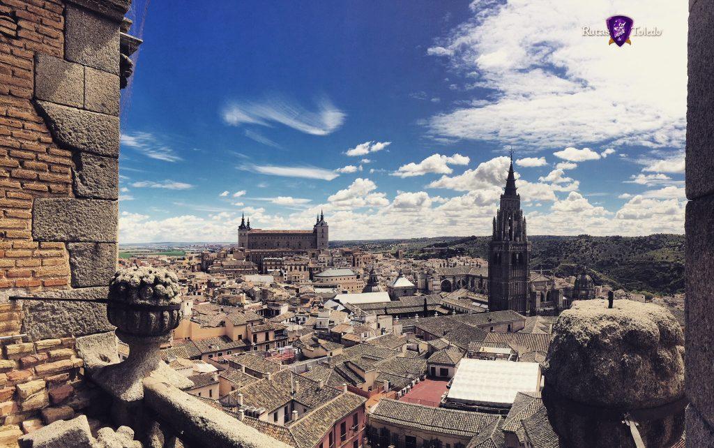 Panorámica de Toledo desde la Iglesia de los Jesuítas