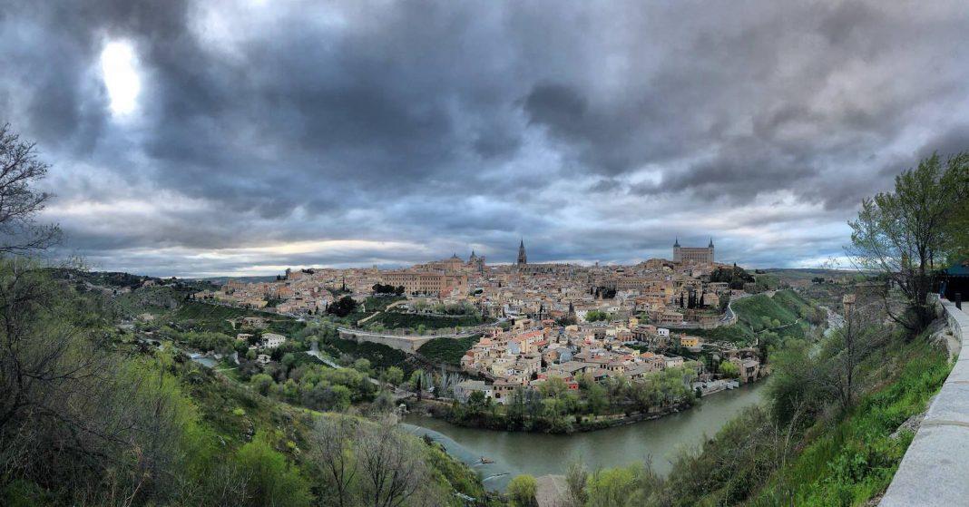 Panorámica desde El Valle de Toledo