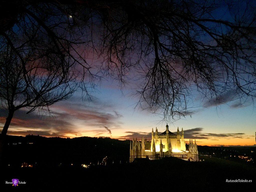 Vista desde el Paseo Virgen de Gracia en Toledo