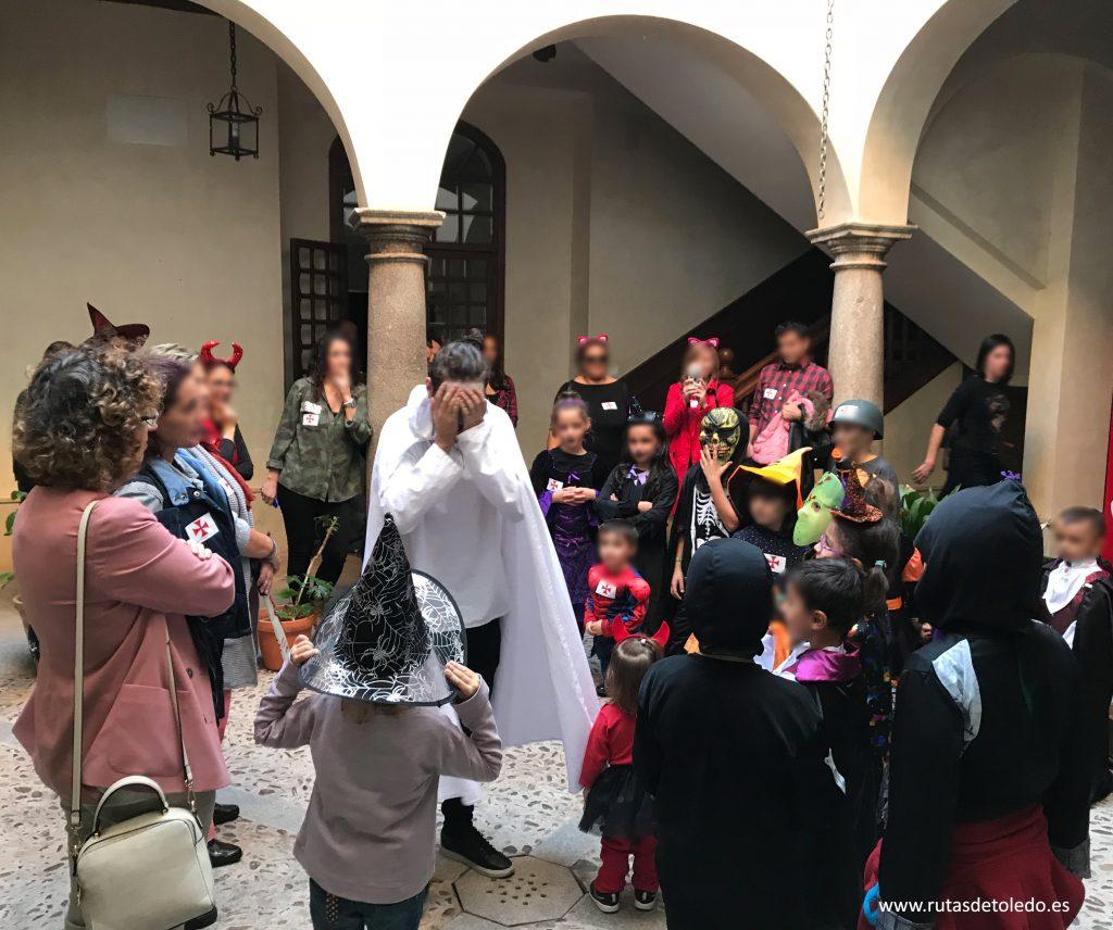 Visita guiada infantil por Toledo en Halloween