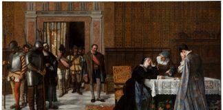Doña María Pacheco de Padilla después de Villalar