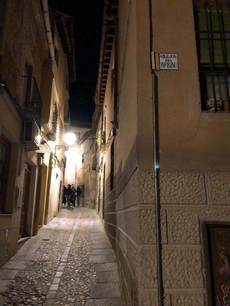 Callejón del Infierno en Toledo