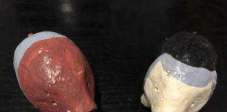 Cerditos de cerámica en Toledo