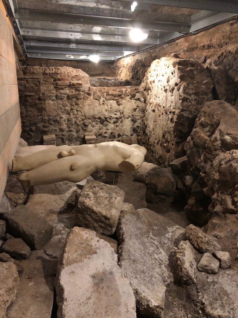 Thermae, escultura encontrada en las termas romanas de Toledo en 2017