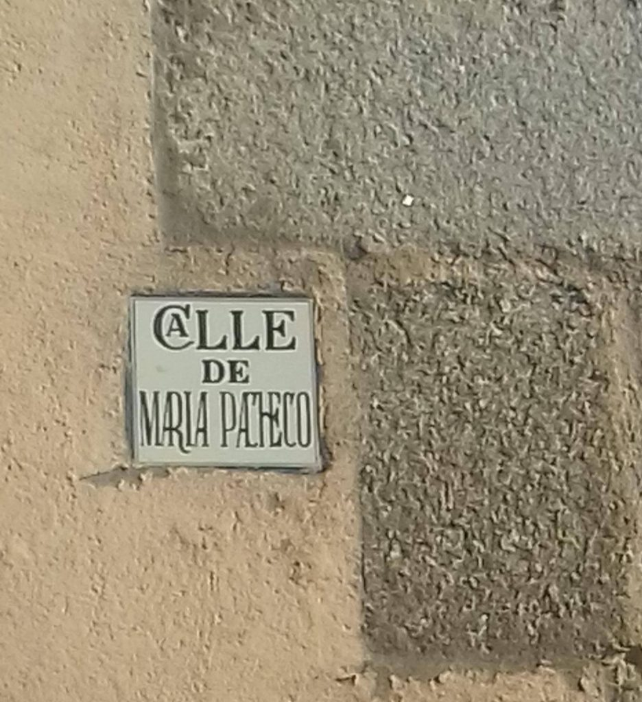Calle María Pacheco en Toledo. Foto: Carlos Dueñas