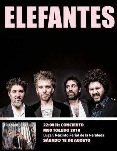 Concierto Elefantes Toledo 2018
