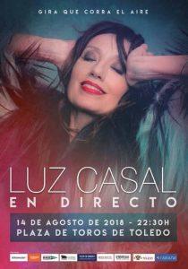 Concierto Luz Casal Toledo 2018
